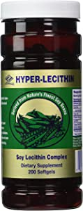 Nu Health Hyper-lecithin (200 Softgels) Soy Lecithin Complex