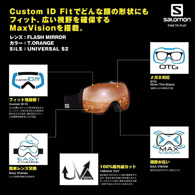 Salomon XT One Access Black Saffron//Universal Tonic Orange L40519500