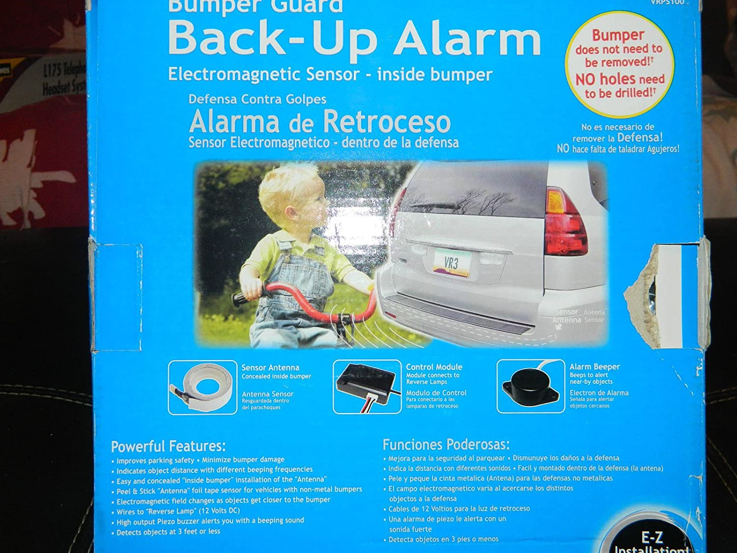 Bumper Guard - Back-up Alarm