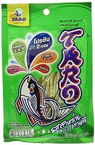 Thai Taro Fish Snacks Korean Seaweed Flavor 7.5g (Pack of 12)
