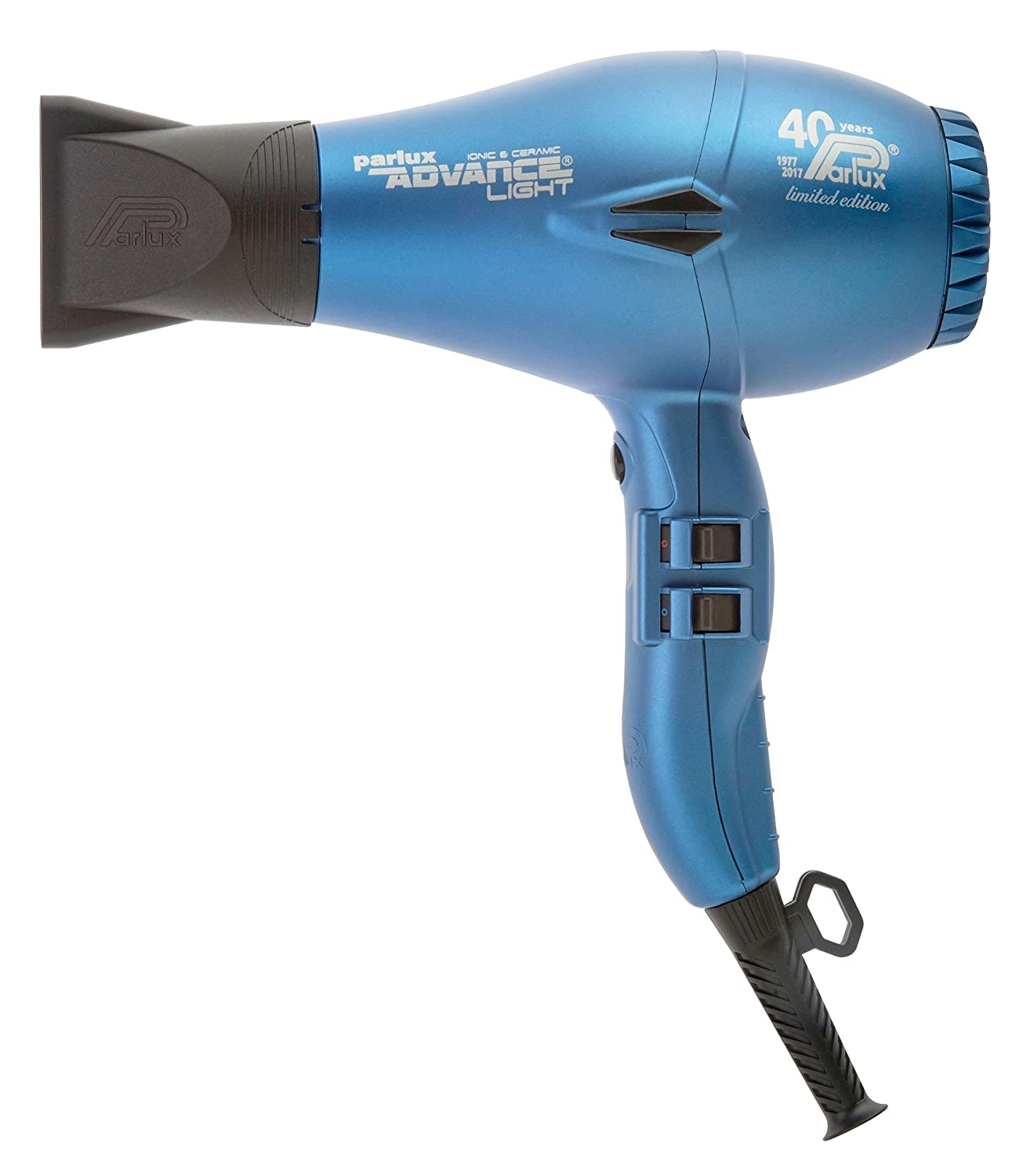 Parlux Advance Light - Secador de pelo ionico, Azul: Amazon.es: Salud y cuidado personal