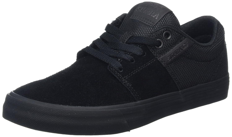Supra Stacks Vulc II Sneaker Medium / 11.5 C/D US Women / 10 D(M) US Men|Black / Black - Black