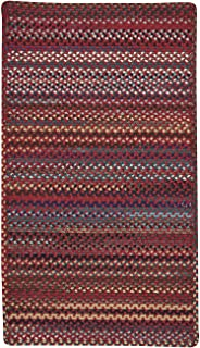 "product image for Bunker Hill Cardinal 11' 4"" x 14' 4"" Cross Sewn Rectangle Braided Rug"