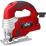 Sierra de calar profesional RDM Quality Tools PRO 70053, 710W, giro reversible, velocidad variable, botón de bloqueo. Color rojo y negro.