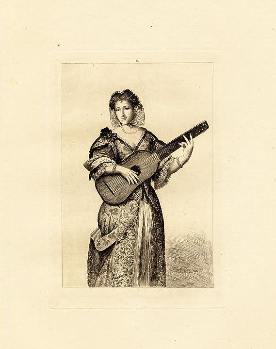 Antiguo ThePrintsCollector cruzerlite-moliére-mujer-armande Bejart ...
