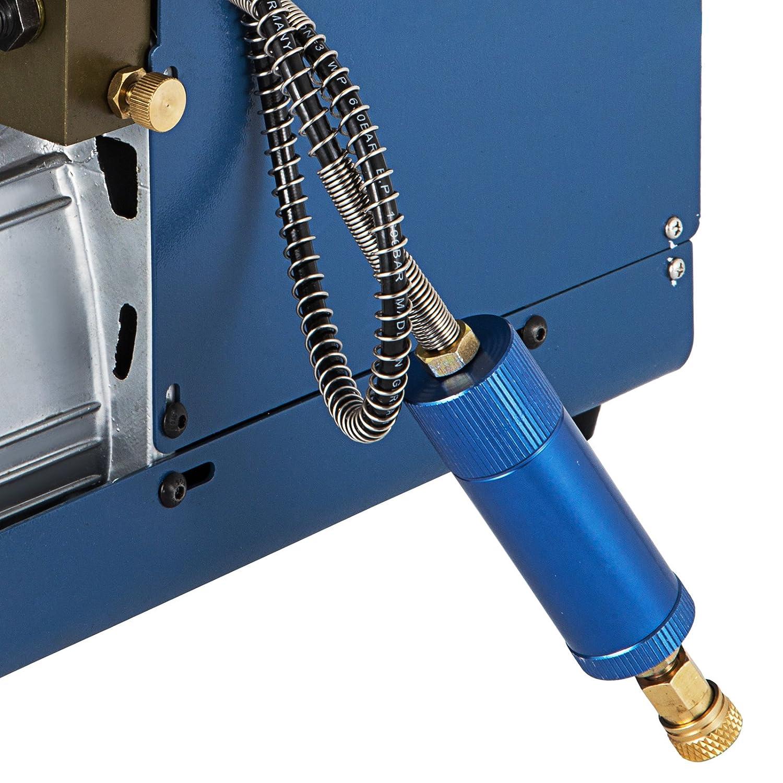 OldFe 30MPA La Pompa Alta Pressione con La Pistola D/'Aria 4500PSI Pompa Compressore D/'Aria Air Compressore Pump PCP Sospensione Compressore D/'Aria