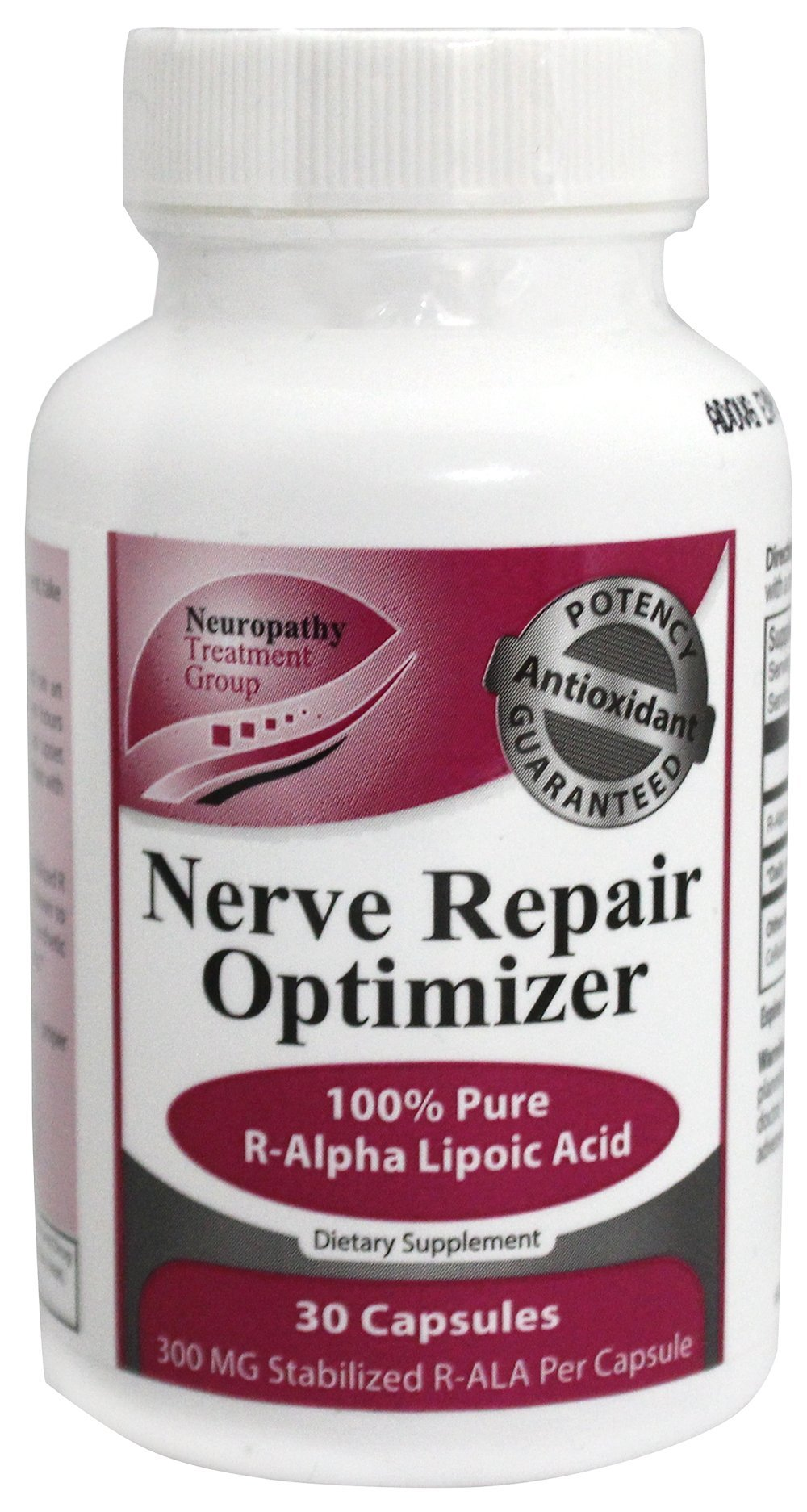 Nerve Renew - All-Natural Nerve Renew Repair Optimizer with Stabilized R-Lipoic Acid - Absorbs Fast - Alternative Nerve Pain Treatment - One Month Supply (30 Count)