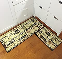 kitchen rugs. Perfect Rugs EUCH 2 Piece Kitchen Mat Nonslip Rubber Backing Carpet Doormat Runner  Bathroom Rug Set For Rugs