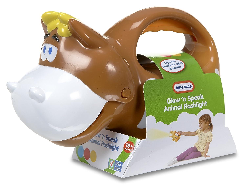 Amazon.com: Little Tikes Glow \'N\' Speak Animal Flashlight, Cow: Toys ...