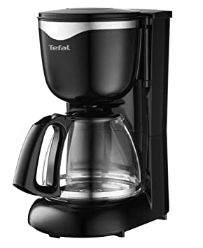 Tefal CM440812 Dialog - Cafetera automática (jarra de cristal, 10-15 tazas,