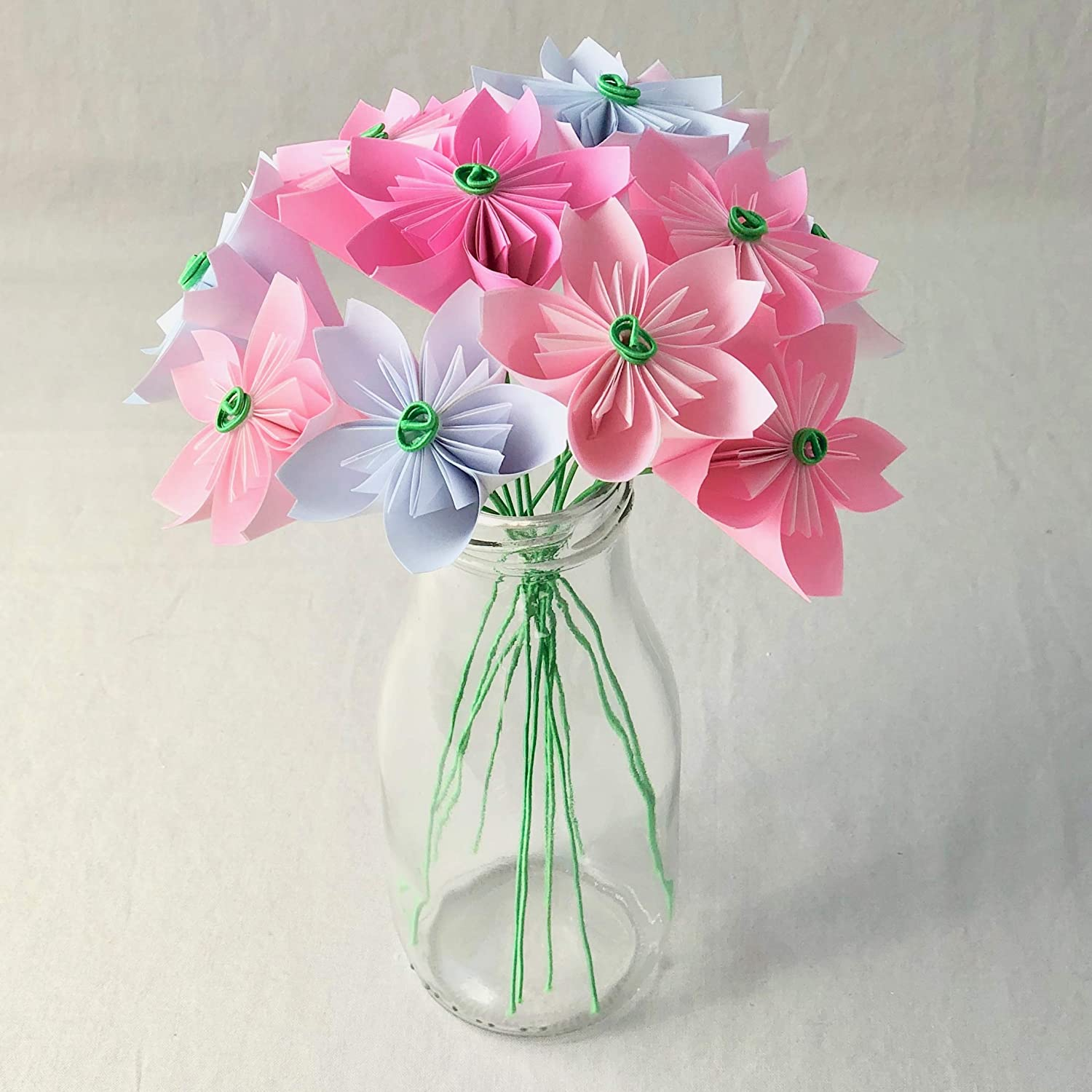Simple Origami 3D Cherry Blossom Step by Step - Kids Can Make | 1500x1500