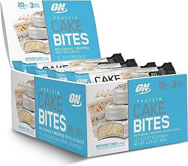 Optimum Nutrition - La torta de la proteína muerde la torta ...