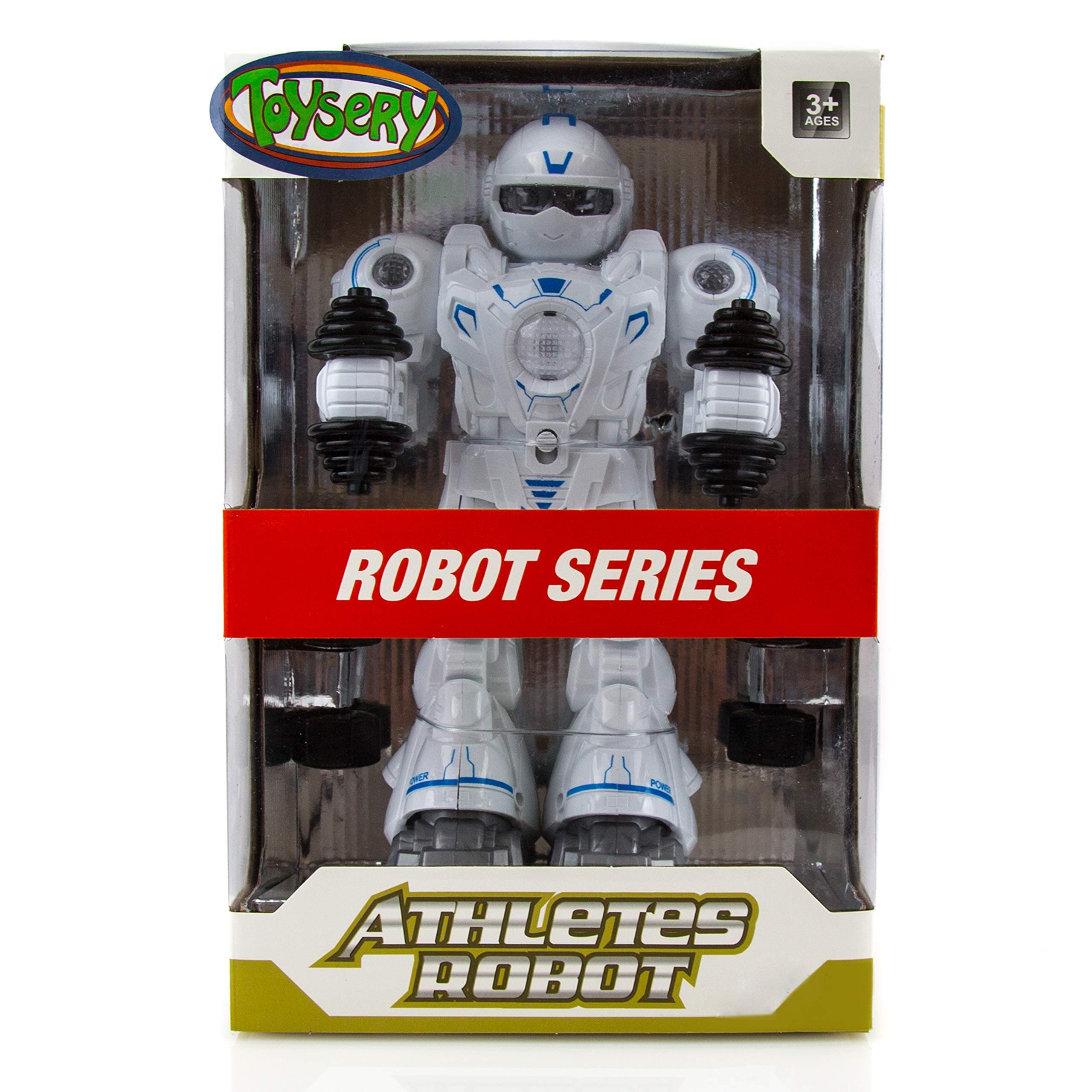 Toysery Walking Dancing Robot Toy Kids - Interactive Walking, Dancing Smart Robot Kit Boys & Girls (Battery Operated) by Toysery (Image #2)