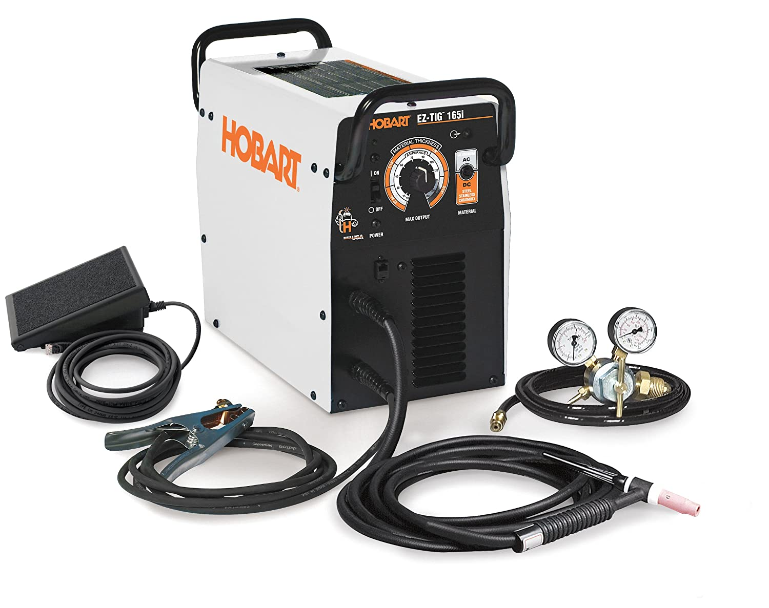 Hobart 500551 EZ-TIG 165i AC/DC TIG Welder 230V - Mig Welding Equipment -  Amazon.com