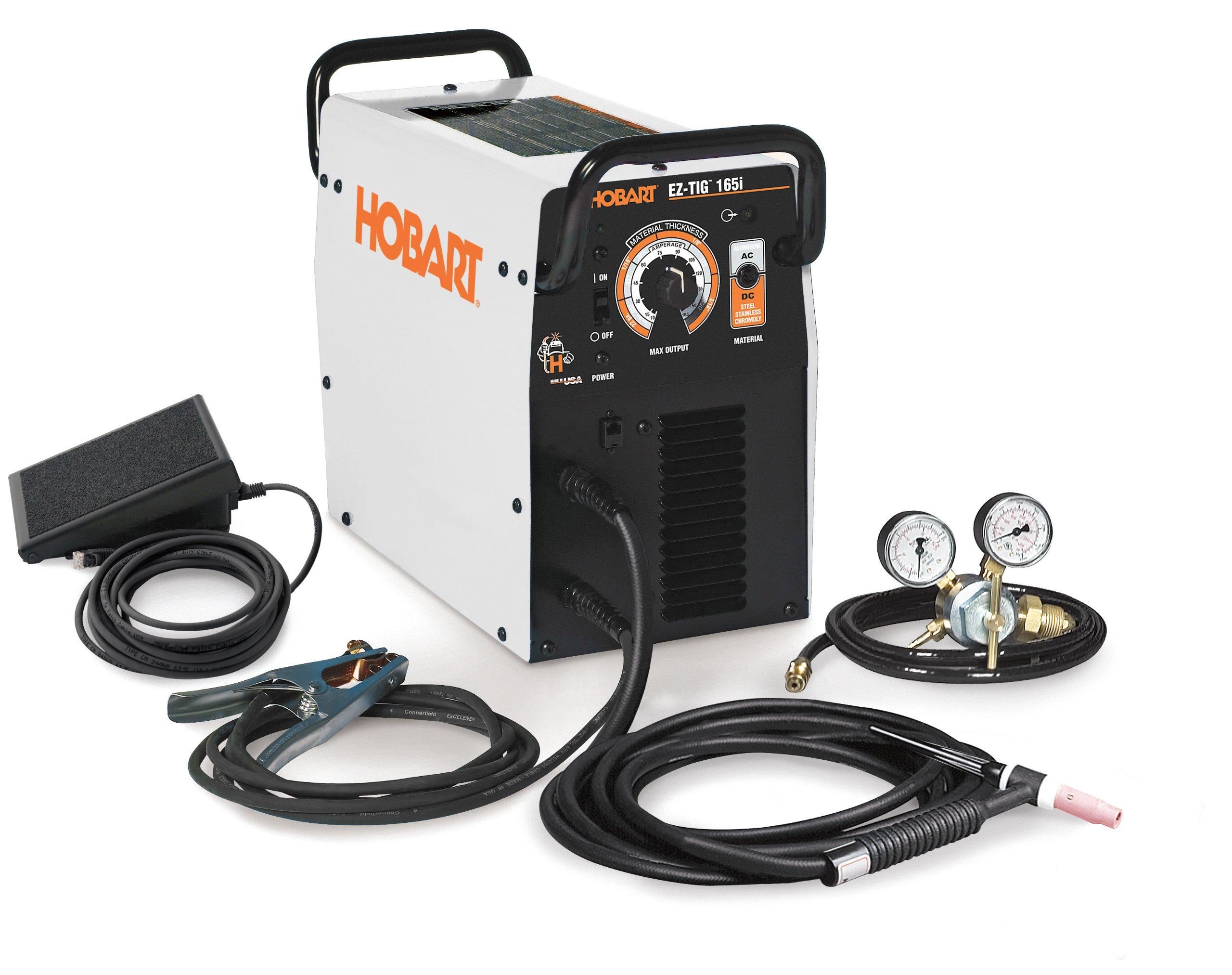 Hobart 500551 Ez Tig 165i Ac Dc Welder 230v Mig Welding 250ex Wiring Diagram Equipment