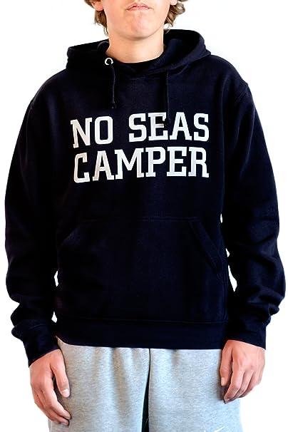 CHETAOH Sudadera Azul con la Frase NO Seas Camper y Logo de la Marca en la Espalda: ¡Únete al Movimiento: Amazon.es: Ropa y accesorios
