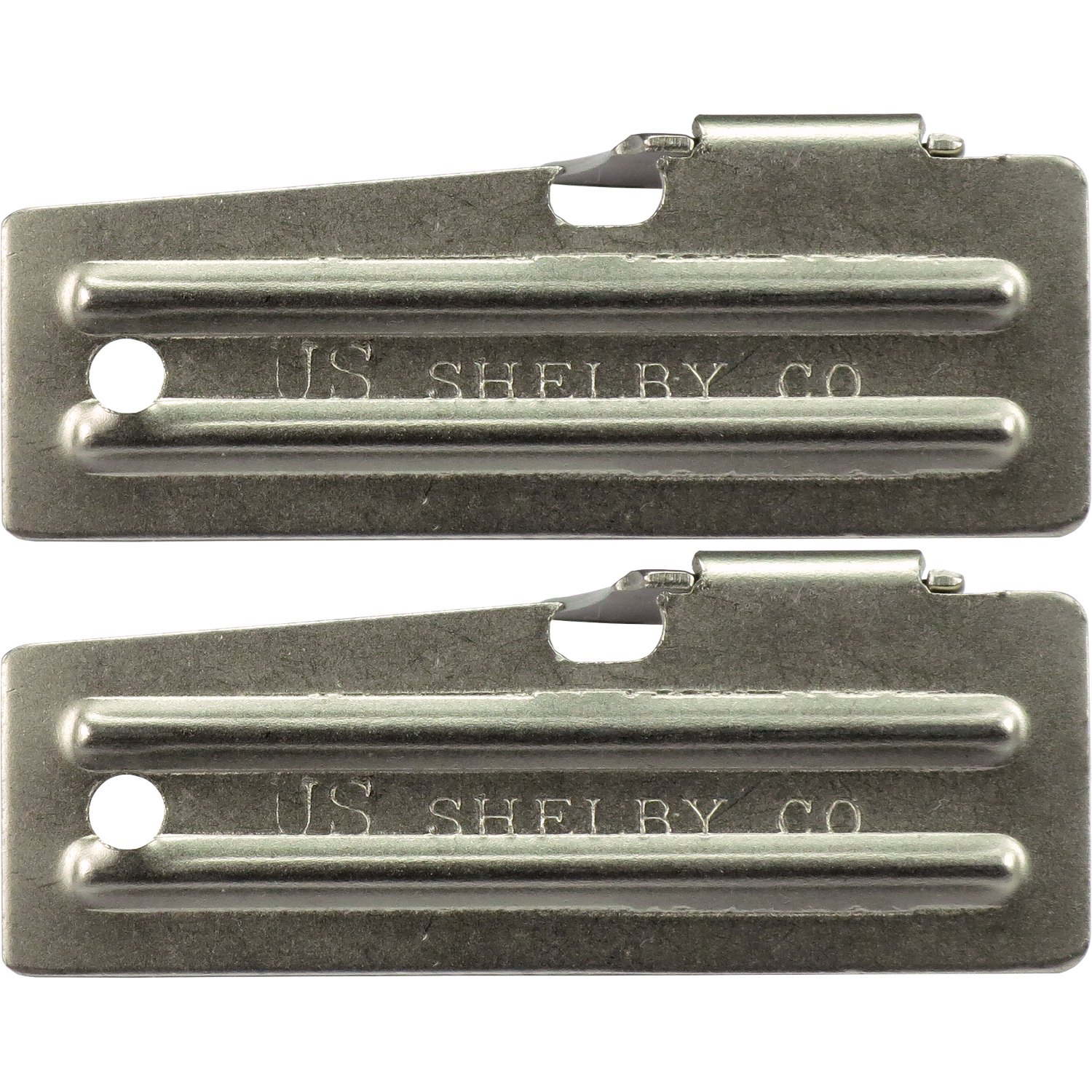 2 Pack Survival Kit Can Opener, Military, P-51 Model CHINA TOPS COMINHKPR07898