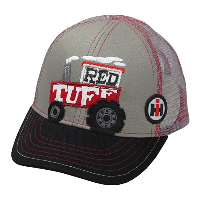 7b23634c84ee4 Amazon.com  Case IH IH Toddler Red Tuff Cap - Officially Licensed ...