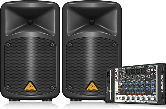 Behringer EPS500MP3 - Eps-500 mp3 sistema 500w eos500 mp3 par