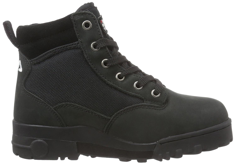 Fila Grunge Mid 1799398.25Y - Botas de cuero para unisex-adultos, color negro, talla EU 36 (UK 3): Amazon.es: Zapatos y complementos