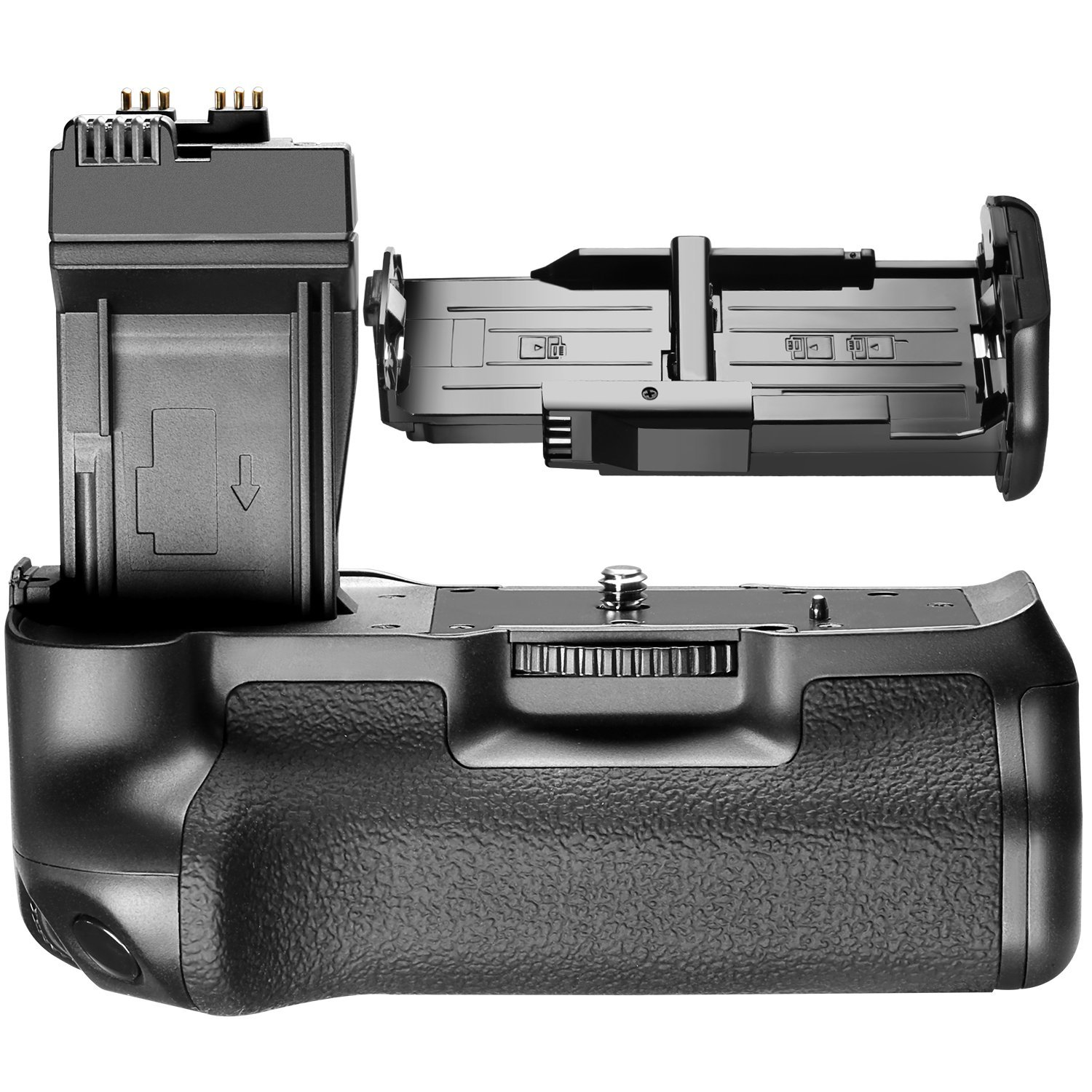 Neewer BG-E8 Replacement Battery Grip for Canon EOS 550D 600D 650D 700D/ Rebel T2i T3i T4i T5i SLR Cameras 10000601