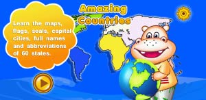 Amazing Countries - World Geography Educational Learning Games for Kids, Parents and Teachers FREE from Avocado Mobile Inc