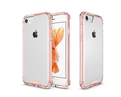 finest selection b653e 25a0e iPhone 7 Case iPhone 8 Case Airbag Sleeve Design Anti-Dirting Anti-Fall  Anti-Scratch Shock Proof Transparent Clear Full Protective Case for Apple  ...