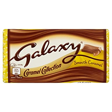 Galaxy 1 Barra Caramelo Chocolate - 135g