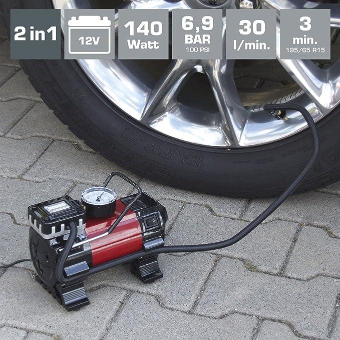 Dino Kraftpaket 136309 2in1 Kompressor Auto