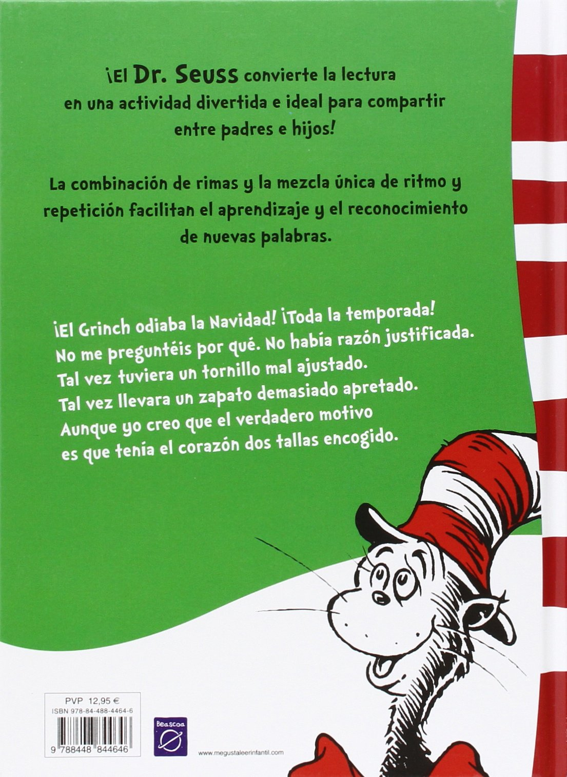 Cómo el Grinch robó la Navidad! (Dr. Seuss): Amazon.es: Dr. Seuss ...