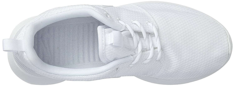 NIKE Women's Roshe One Running Shoe B00R54UEX2 7.5 B(M) US|White/White