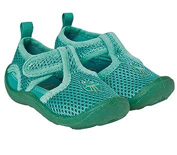 0ff52db2f11a LÄSSIG Baby Kinder Badeschuhe Strandschuhe Schwimmschuhe Atmungsaktiv  Anti-Rutsch Sohle Klettverschluss Beach Sandals