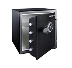 SentrySafe SFW123CS 1.2 Combination Fire Resistant Big Bolt Safe Review
