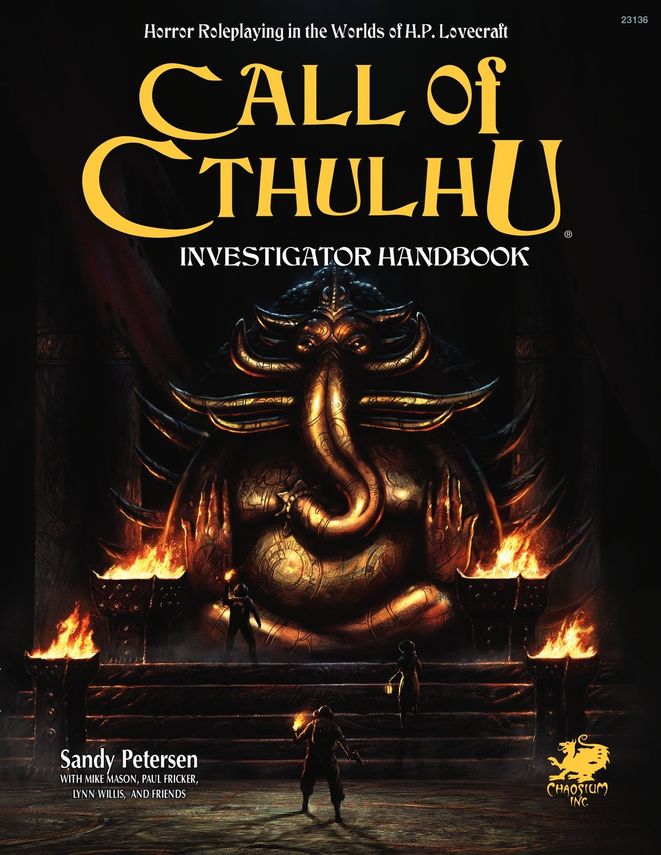 Call of Cthulhu Investigators Handbook (Call of Cthulhu Roleplaying) by Chaosium, Inc.