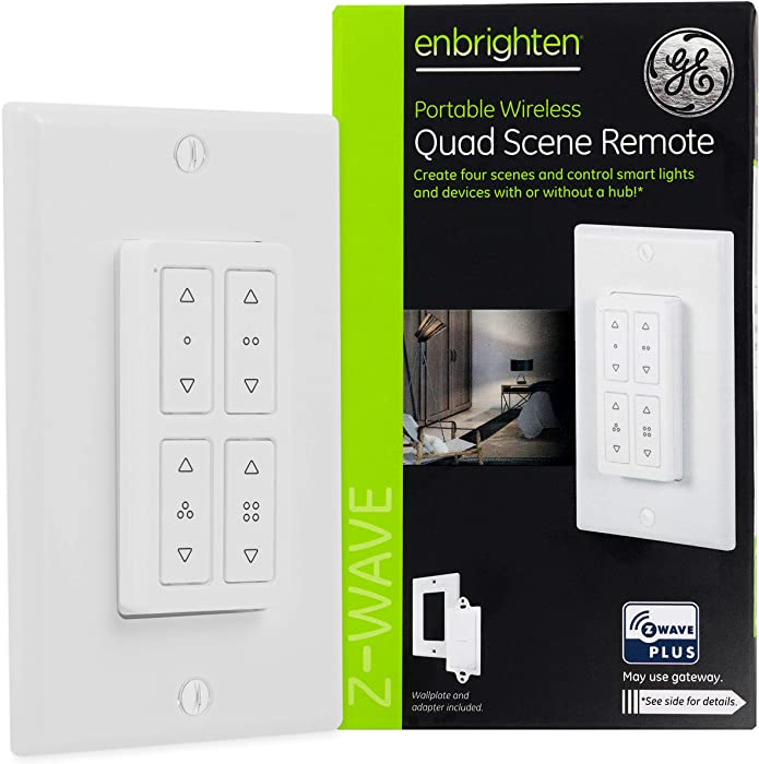 The Best Ge On Wall Smart Remote 45631