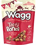 Wagg Tasty Bones With Chicken and Liver 150 g (Pack of 7)