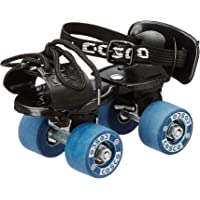 Cosco Tenacity Super Jr. (16.5-19.5 cm) Age Group (3-6 Years) Quad Roller Skates - Size 8-11 UK (Blue)