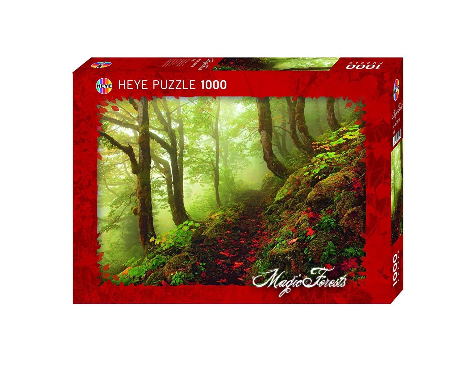 MAGIC FORESTS RHODODENDRON Heye Puzzle 29662-2000 Pcs.