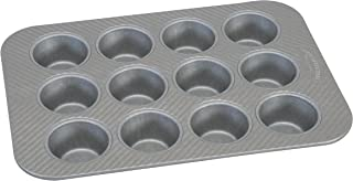 product image for USA Pan American Bakeware Classics 12 Cup Cupcake and Muffin Baking Pan, Aluminized Steel