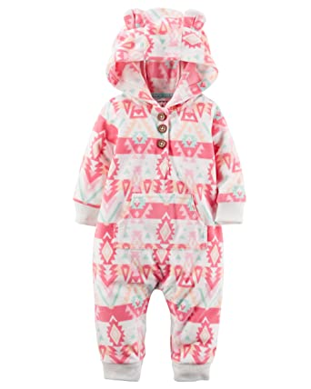 Baby Sleepwear 6 Months Carter's Baby Girls 1 Pc, Pink, 18 Months