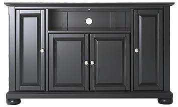 Crosley Furniture Alexandria 48 Inch TV Stand   Black