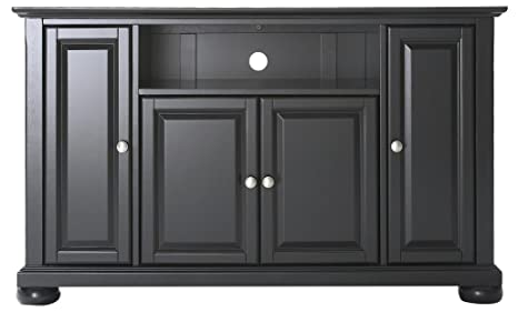 Amazon Com Crosley Furniture Alexandria 48 Inch Tv Stand Black