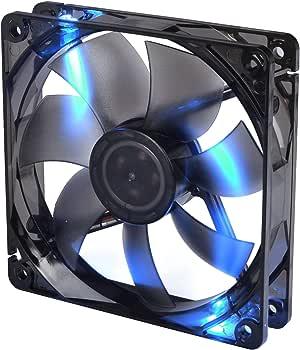 Thermaltake Pure S 12 LED DC - Ventilador con un Rendimiento Estable y confiable, Color Azul