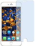 1x mumbi Panzerfolie für iPhone 7 Glasfolie Hartglas 9H (bewusst kleiner als das Display, da dieses gewölbt ist)