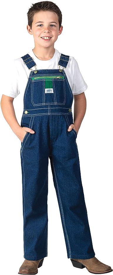 Amazon.com: Liberty boys Boy's Denim Bib Overall: Clothing
