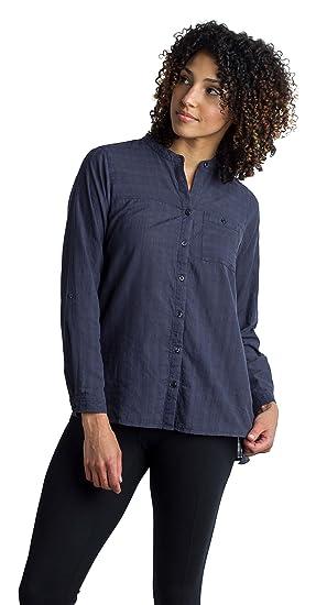 d7d2f7f1608b Amazon.com  ExOfficio Women s BugsAway Collette LS Shirt  Clothing