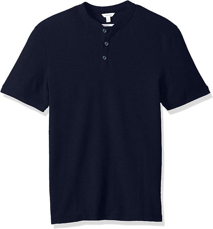 Calvin Klein 卡尔文克莱因 CK 纯棉珠地网眼 男式POLO衫 S码2.8折$16.34 海淘转运到手约¥130