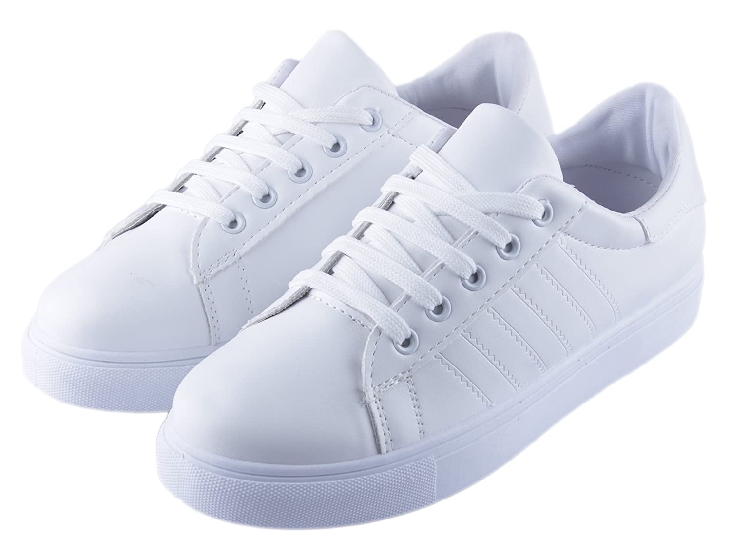 Buy Irsoe White Casual Shoes for Women