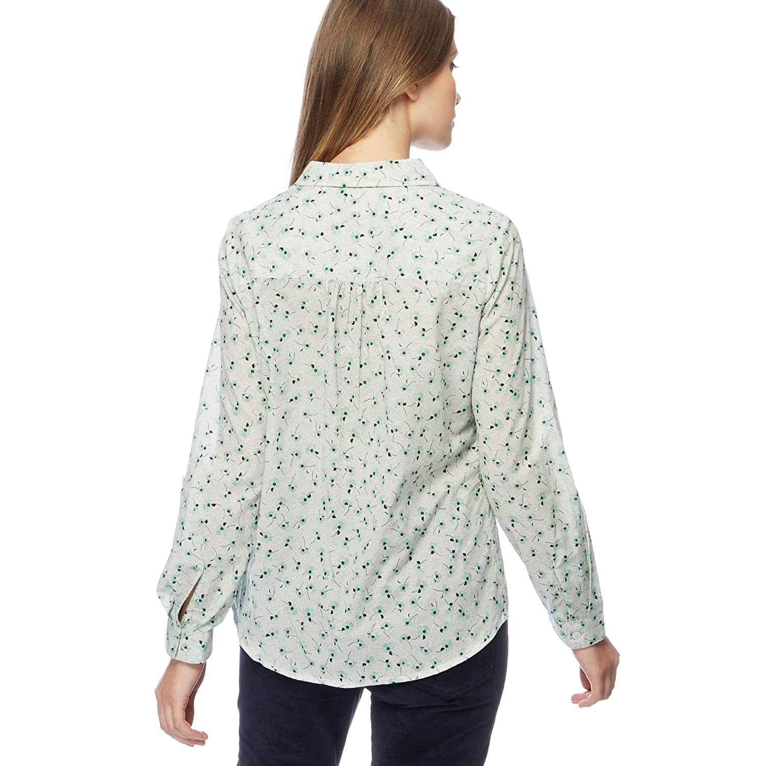 Debenhams Maine New England Womens Pale Green Floral Print Shirt: Maine New  England: Amazon.co.uk: Clothing