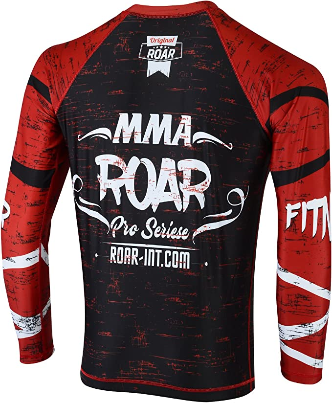 Amazon.com: Roar BJJ Rash Guards MMA Grappling Jiu Jitsu ...